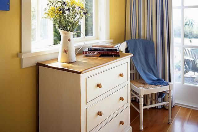 Give your old dresser a makeover with these easy ideas. Whether you choose paint, stencils, new hardware, decorative tacks or wallpaper, it's easy to redo your dresser.