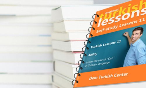 Self Study Turkish Lessons 11 Beginners