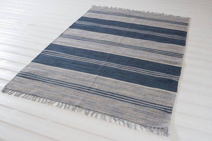 Dalby blå  140x200