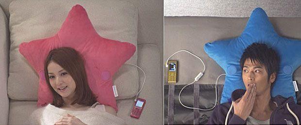 'Pillow Talk' Phone Headrests Enable Conversations via Cushion