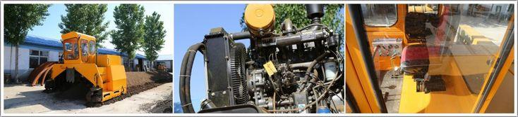 Full Hydraulic Compost Turner - info@organicfertilizermachine.com