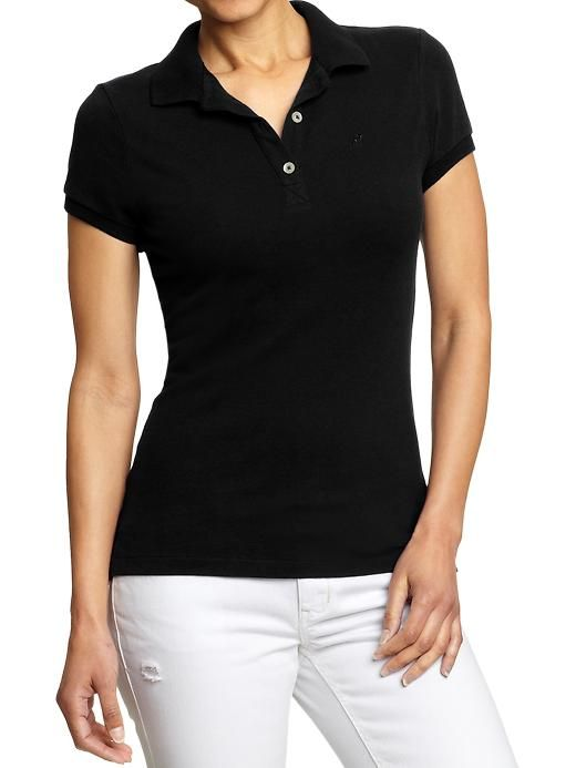 32 best images about outfits polo and khakis on for Cute polo shirts for women