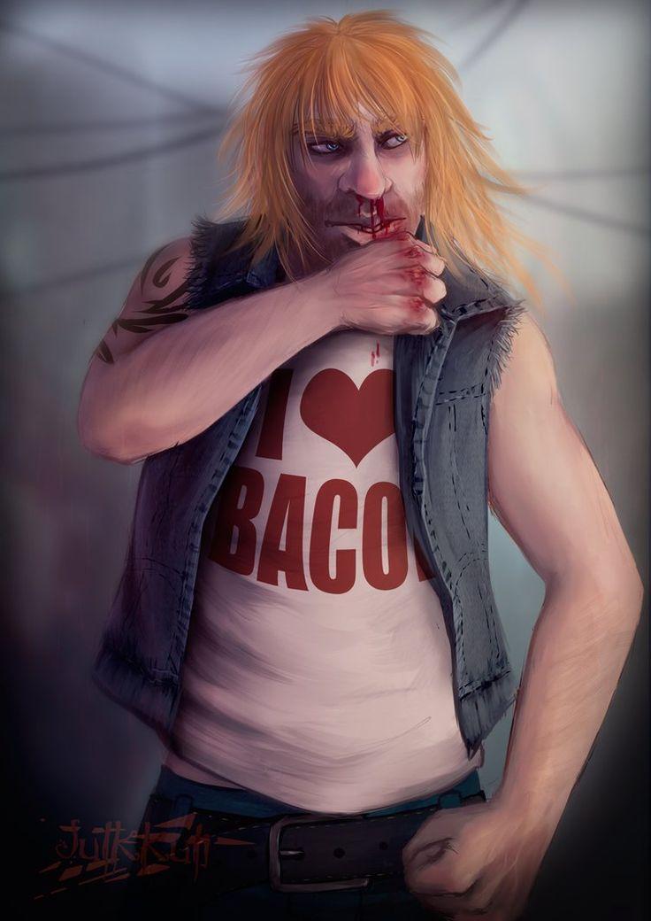 I Love Bacon by Julkkuli.deviantart.com on @DeviantArt