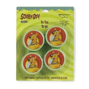 Scooby-Doo Yo-Yo's (4/pkg)