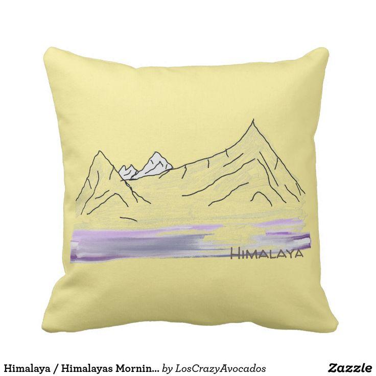 Himalaya / Himalayas Morning Landscape Cushion