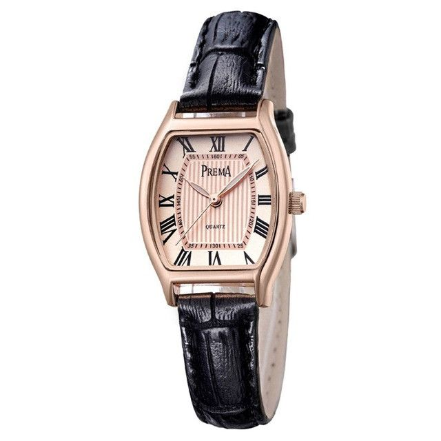 Relogio Feminino PREMA Women Watches Montre Femme Marque De Luxe Leather Band Tonneau Shape Quartz Ladies Watch Reloj Mujer