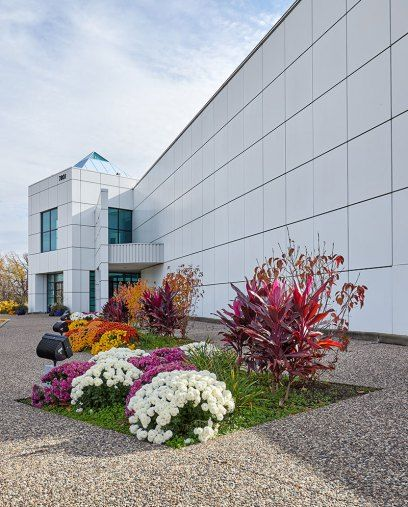 CHANHASSEN, MN - NOVEMBER 02: Exterior of Prince's Paisley Park Museum during a media preview tour on November 2, 2016 in Chanhassen, Minnesota. (Photo by Adam Bettcher/Getty Images)