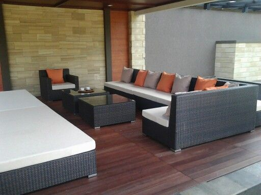 Living set Dani KBP Almunium frame,rattan synthetic wicker,cushion/pillow water proof.....