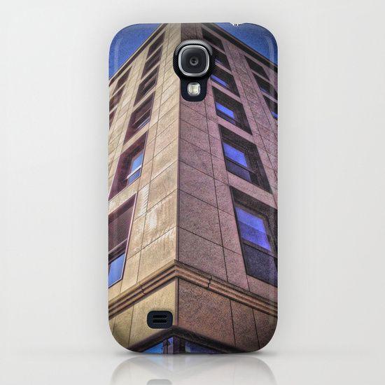 Purple Building iPhone & iPod Case by AngelEowyn. $35.00