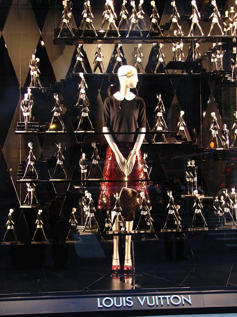 Window Visual Merchandising | VM | Window Display | Beautiful Window Displays!: louis vuitton