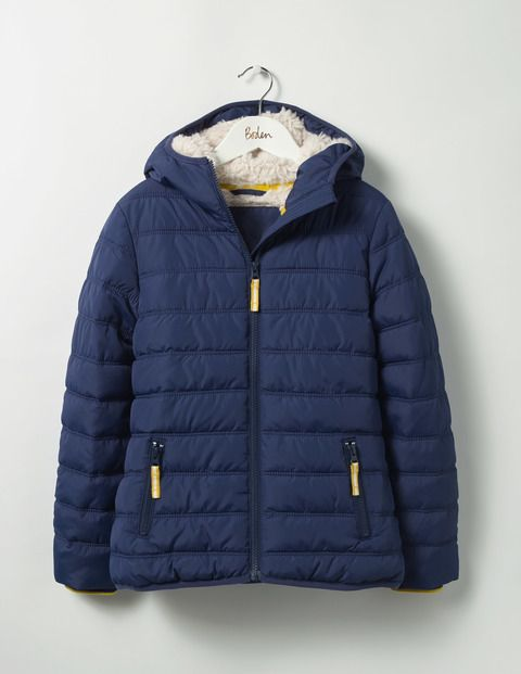 Padded Jacket (School Navy)