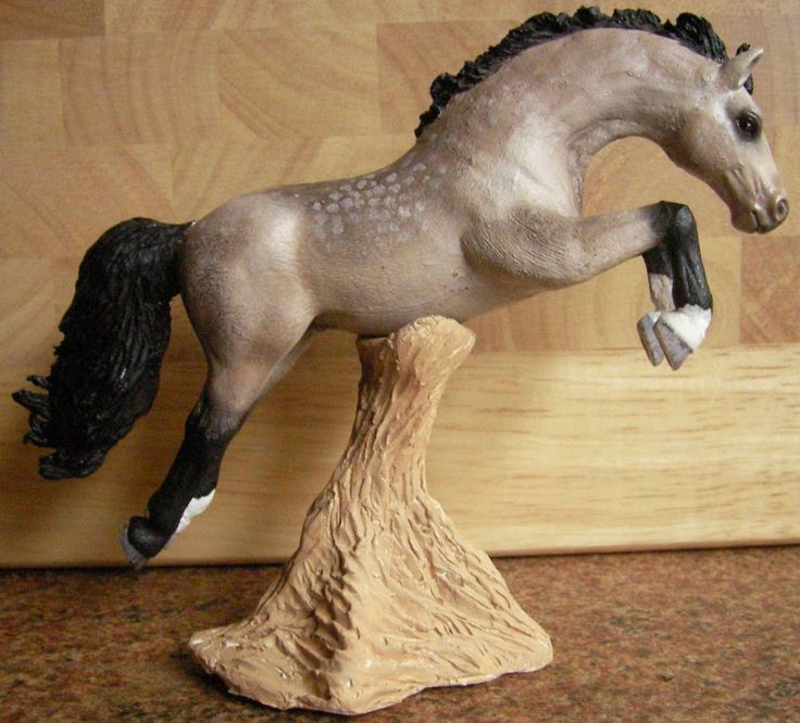 Schleich lipizzaner mare 2013 repainted and customized ...