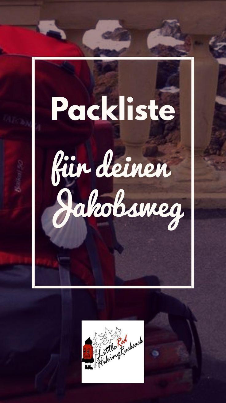 Was kommt im Rucksack, wenn Sie den Jakobsweg / Jakobsweg gehen wollen …  – Travel   Reisen, Backpacking, Reiseziele