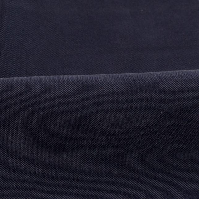 Tissu cupro bleu marine toucher peau de pêche pour des pantalons chez Place des tissus