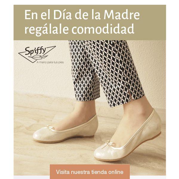 El día de la madre, regálale comodidad.  #DíaDeLaMadre #SPIFFY #HechoEnEspaña #MadeInSpain #calzado #Zapatos #Sandalias #shoes #moda #tendencias