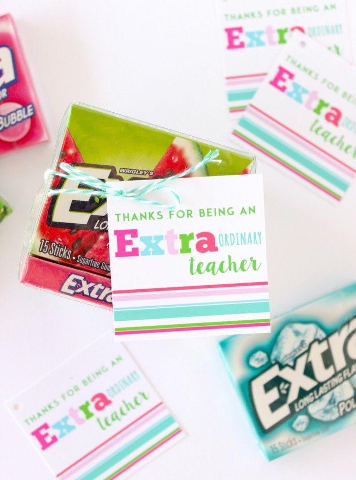 Extra Gum Teacher Gift