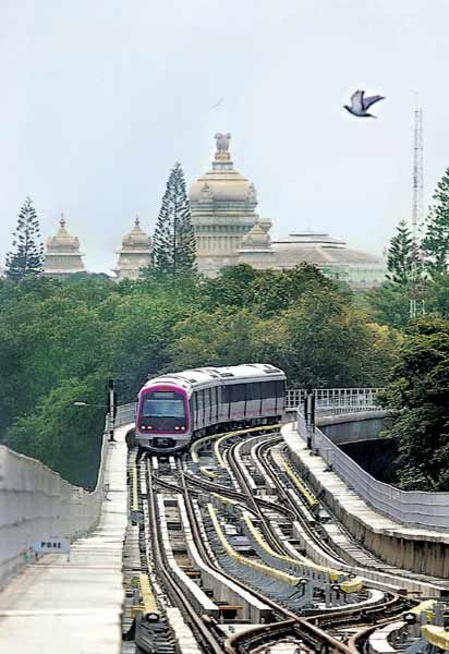 The Bangalore Metro Rail Corporation (BMRCL) revealed the chic look the Mahatma Gandhi station showing its readiness for commercial operations.