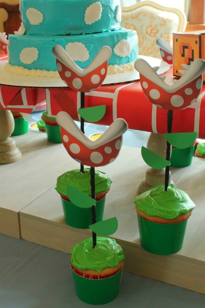 Super Mario Brothers Birthday Party ideas.