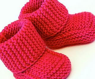 Looking for your next project? You're going to love Oh Baby ! Baby Booties by designer Judith DDKnits.