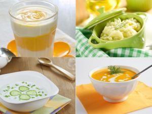 Les repas quotidiens de bébé seront les mêmes, de 9 mois jusqu'à ses 1 an.Au petit déjeuner On augmente un peu les quantités (210 ml jusqu'à 8 mois) de lait en proposant désormais 240 ml chaque matin.Pour le déjeuner Proposez 180 grammes de purée légumes-féculents, tout en gardant toujours la même proportion (1/3 de féculents et 2/3 de légumes). Les quantités de viande ou poisson restent les mêmes, c'est à dire 20 grammes par jour. Cependant, bébé pourra commencer à... - Menu type pour la…