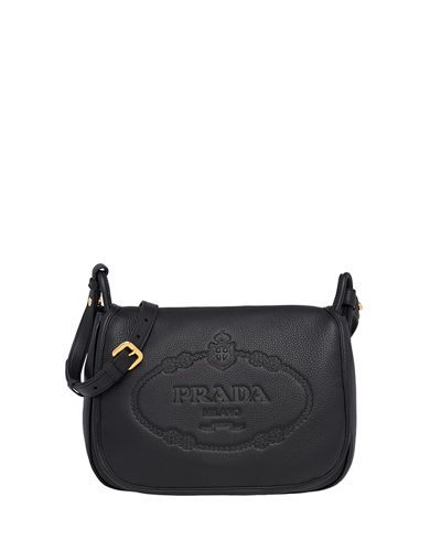 968c48bb0908a1 Prada Daino Shoulder Bag | ⚜ PRADA ⚜ | Bags, Leather saddle bags ...