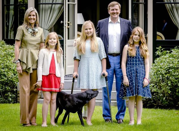 Dutch Royal Family at the 2016 Summer Photo Session