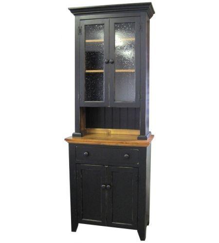 Furniture :: Kitchen & Dining Furniture :: Farmhouse Stepback Cupboard 2-pc.