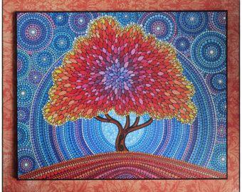 Colores impresión laminada en madera  Arizona Dream