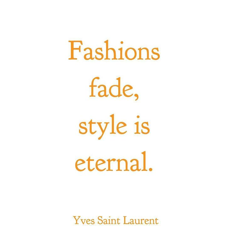 That's true ladies define your own style - define it wear it live it breath it and let it reflect the real you!