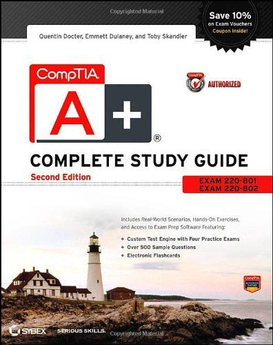 605 best books images on pinterest computer technology books and comptia a complete study guide exams 220 801 and 220 802 fandeluxe Image collections
