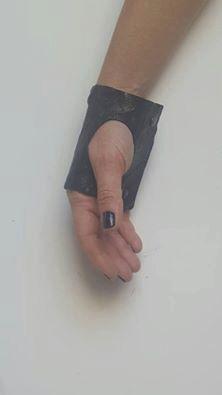 bracciali in pelle fatti a mano da me di JungleBagRoma su Etsy