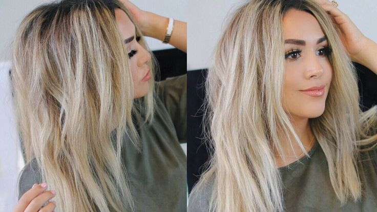 I WOKE UP LIKE THIS HAIR TUTORIAL! Messy Loose Curls | Alexandrea Garza