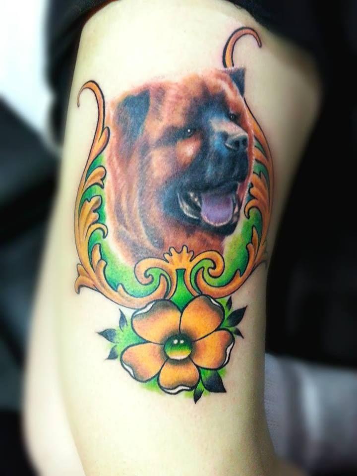 Neotraditional Dog
