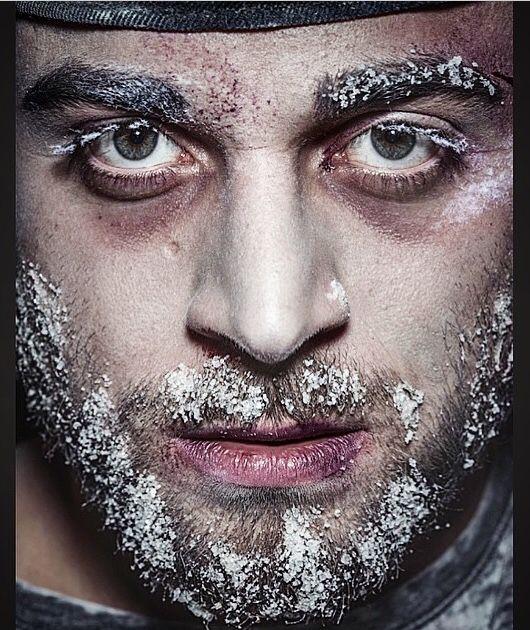 Ice makeup #icemakeup cover  Uomo di ghiaccio # ipotermia  ️Www.truccare.com