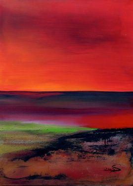 "Saatchi Online Artist: Silke Koppe; Acrylic, 2007, Painting ""Bali"""