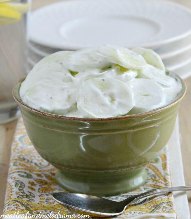 ... Creamy Cucumber Salad on Pinterest | Creamy Cucumbers, Cucumber Salad