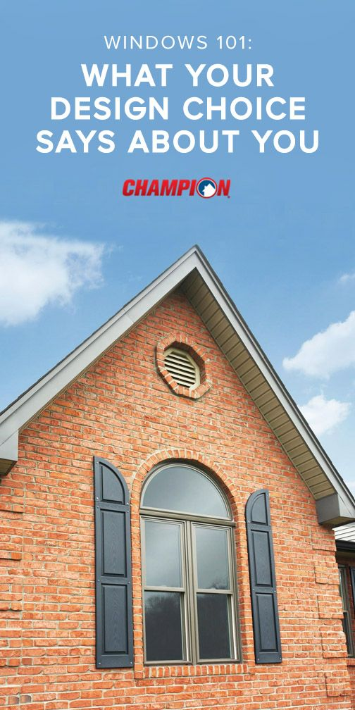 Whether they are shaped like a circle, hexagon, trapezoid or more, the shape of your windows can tell a lot about you and your personality. Shaped windows increase curb appeal and serve as an interior accent to any room in your home. Whether it is fun or formal, there is a style for you. Click here to learn more!