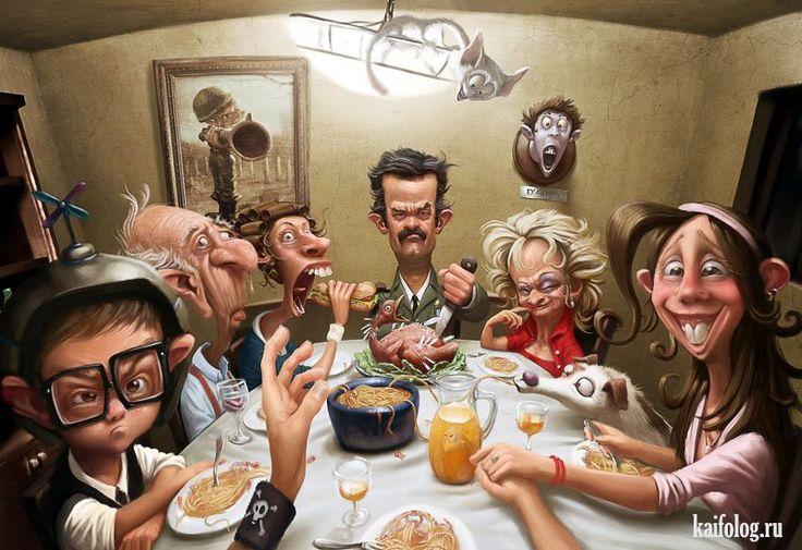 Прикольные иллюстрации Tiago Hoisel (35 картинок)