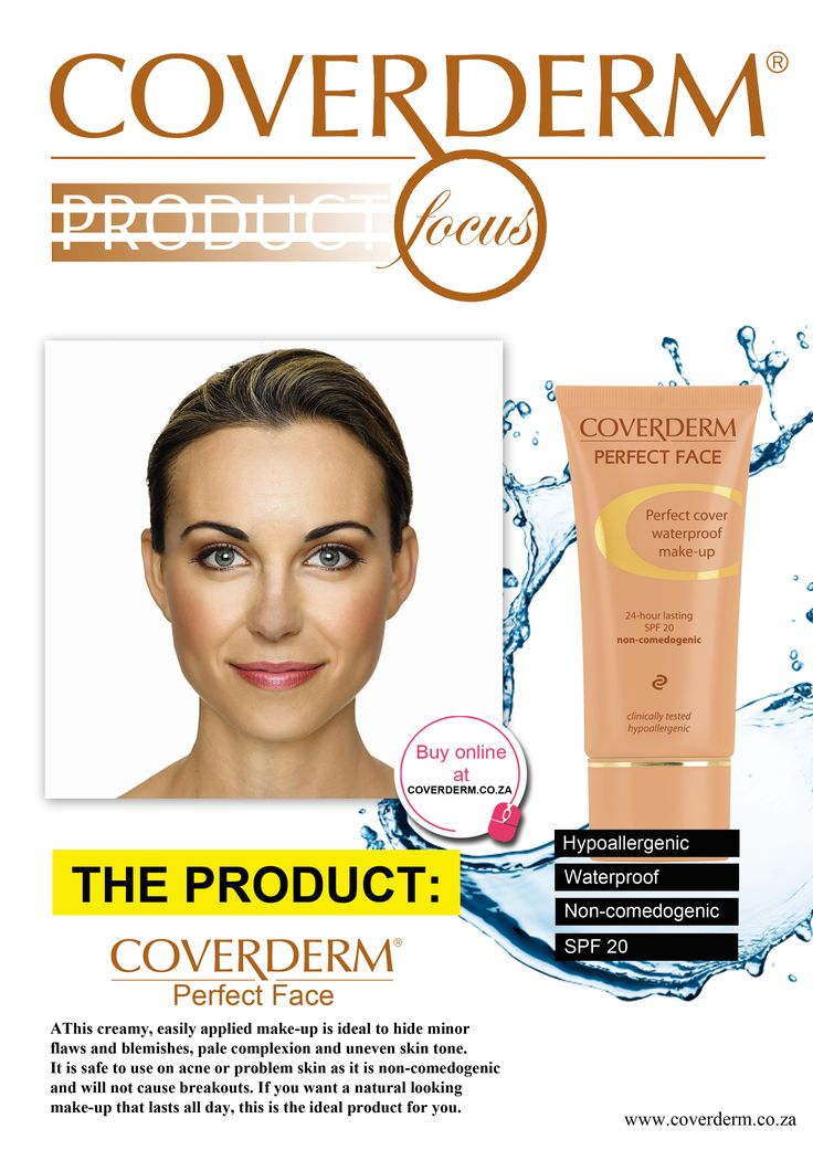 If you want a natural looking make-up that lasts all day, Perfect Face is the ideal product for you.