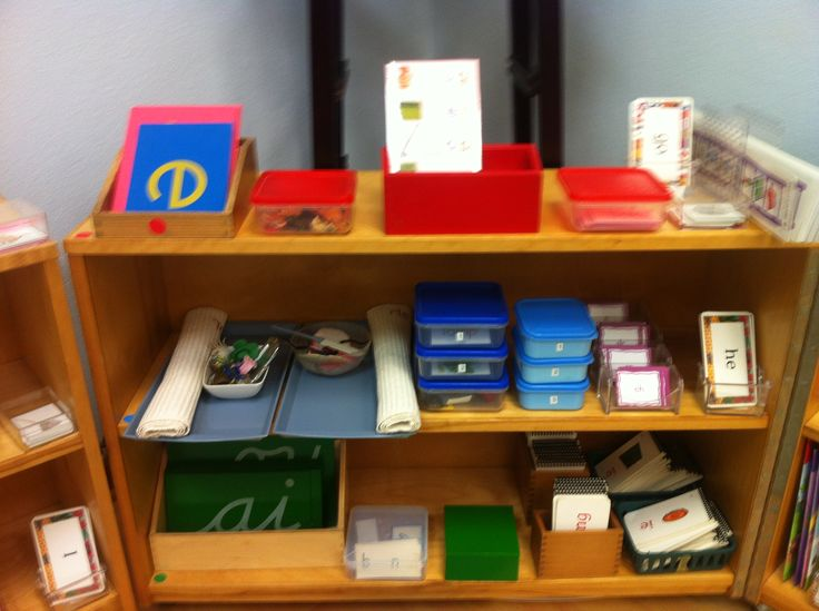 Classroom Bookshelf Ideas ~ Top ideas about montessori shelves language on