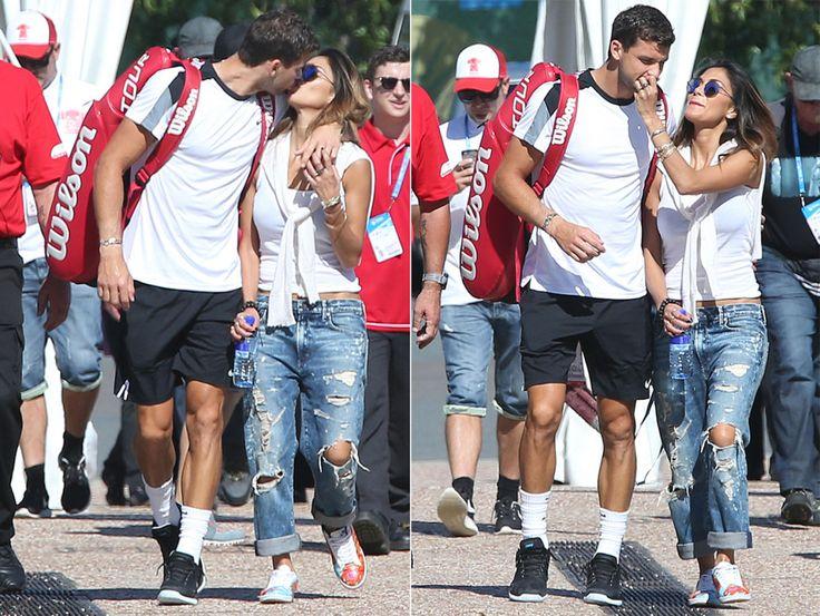 It's LOVE ALL! Nicole Scherzinger and Grigor Dimitrov...: It's LOVE ALL! Nicole Scherzinger and Grigor Dimitrov share their… #Dimitrov