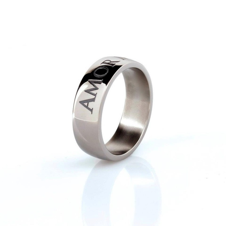 Titanium ring men engraved wedding band men wedding for Engraving on mens wedding rings
