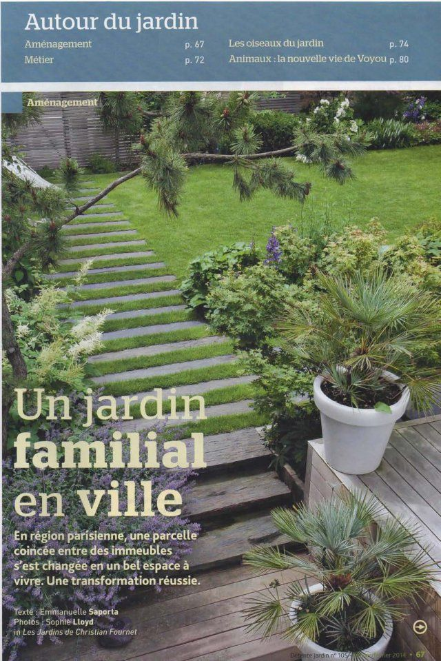 Jolie terrasse avec une all e en ardoise cr e par le for Ardoise decorative jardin