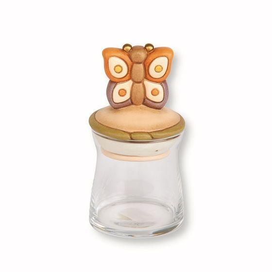 Barattolo in vetro piccolo Country farfalla - Thun