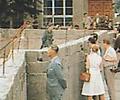 Berlin - Construction du mur  12/13 août 1961