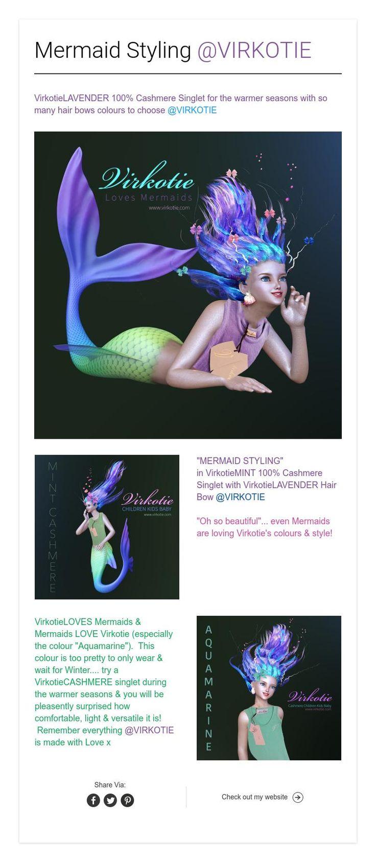 Mermaid Styling @VIRKOTIE