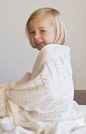 Vintage Merino Cot Blanket