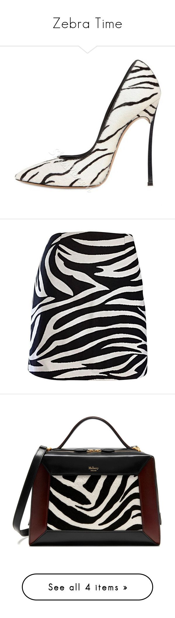 """Zebra Time"" by antonellamar1012 ❤ liked on Polyvore featuring shoes, pumps, stiletto heel pumps, zebra print pumps, zebra shoes, pointed toe shoes, stiletto pumps, skirts, mini skirts and animal print"