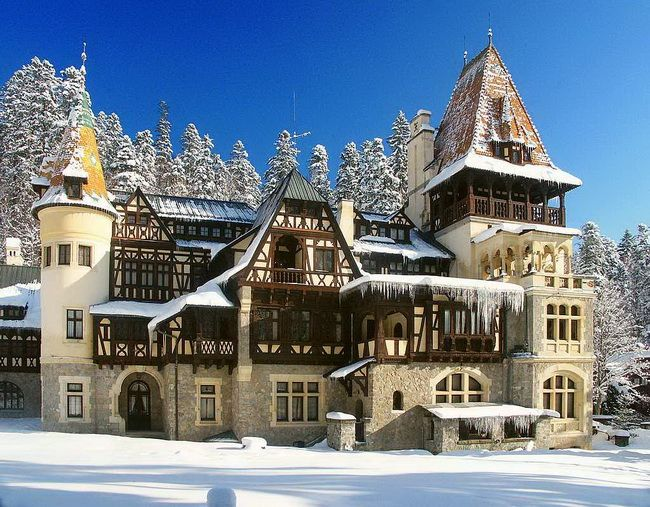 Queen Marie's Castel in Sinaia, Romania