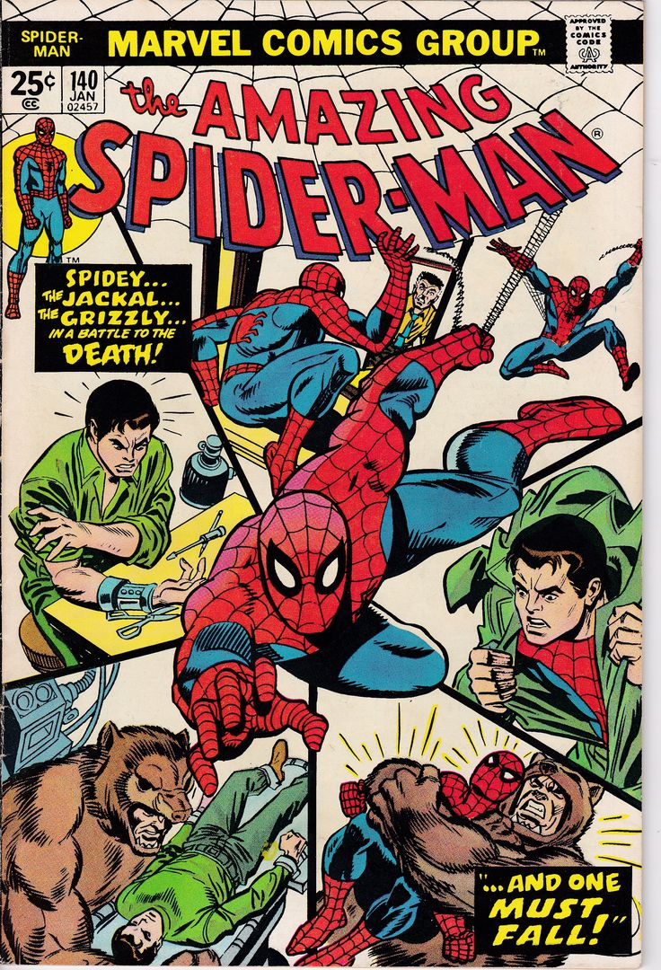 Check out this great title in our #etsy shop: Amazing Spider-Man #140 (1963 1st Series) January 1975 Marvel Comics Grade Fine http://etsy.me/2nmv4vE #booksandzines #comic #spiderman #spidermancomics #amazingspiderman #spidermanmarvel #vintagecomicbooks #collectible